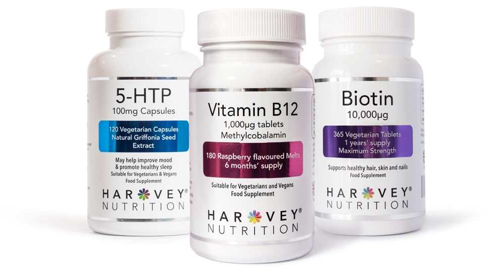 Harvey Nutrition - Vitamins and supplements